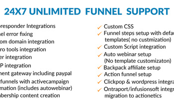 Small unlimited clickfunnels support