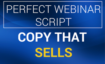 Small copy that sells perfect webinar