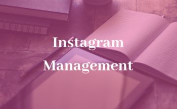 Small instagram management