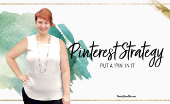 Small pinterest strategy