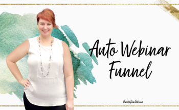 Small auto webinar funnel