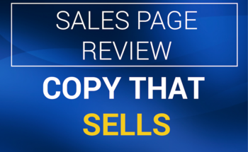 Small copy that sells sales page review