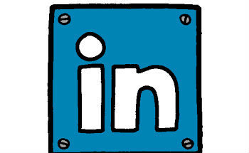 Small linkedin logo