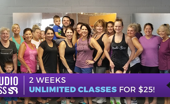Small 25 dollar unlimited classes