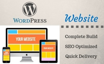 Small complete wordpress website