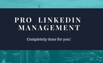Small pro linkedin management