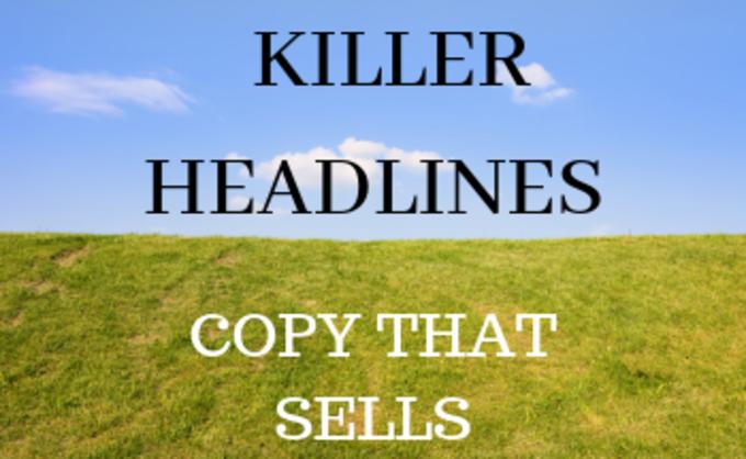 Big killer headlines