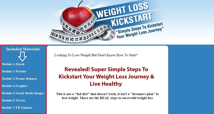 Big weight loss kickstart