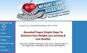 Small weight loss kickstart