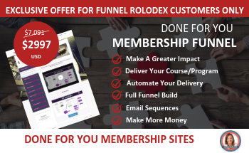 Small membership sites rolodex