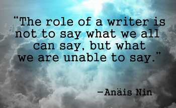 Small anais nin quote