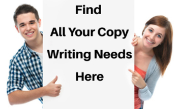 Small find all copy writing needs