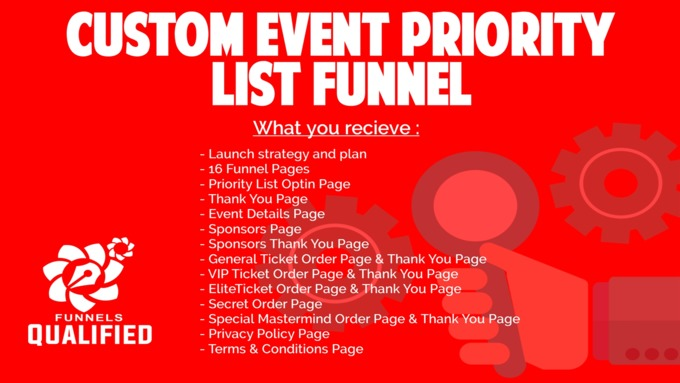 Big cusom event funnel