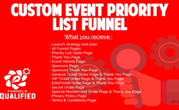 Small cusom event funnel