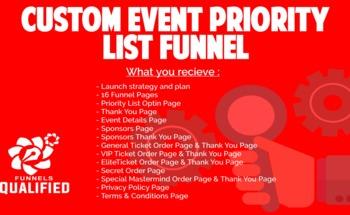 Small cusom event funnel