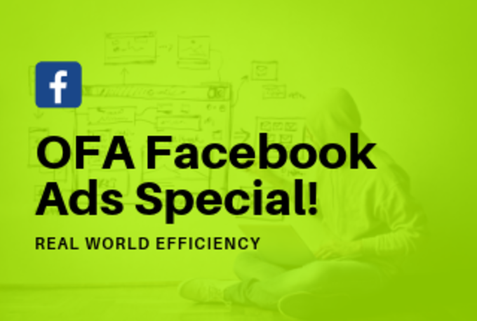 Big ofa facebook ads special