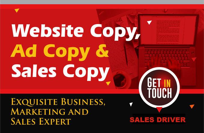 Big sales copy