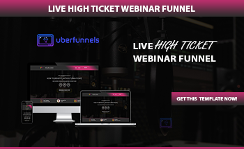 Small rolodex live webinar funnel