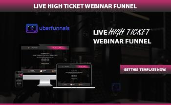 Small rolodex live webinar funnel
