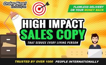 Small sales copywriting