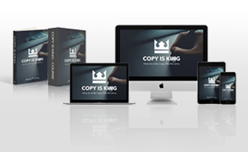 Small copy is king multi device mockup
