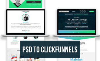 Small psd to clickfunnels