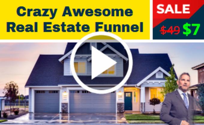Big crazy real estate funnel