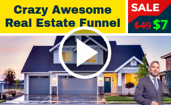 Small crazy real estate funnel