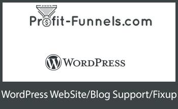 Small funnel rolodex wordpress