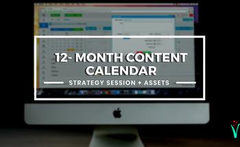 Small vmf  content calendar