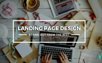 Small vmf  landing page design