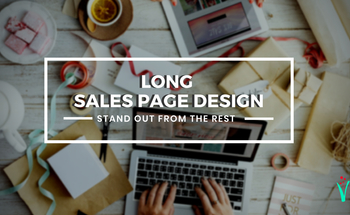 Small vmf  long sales page design