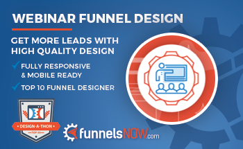 Small funnelsnow webinardesign