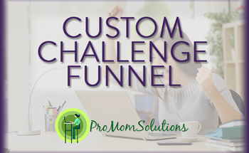 Small promomsolutions challenge funnel