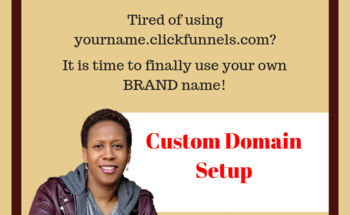 Small custom domain   funnel rolodex
