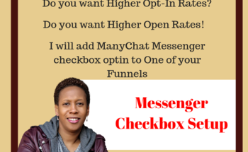 Small manychat checkbox