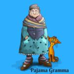 Medium pajama gramma  4